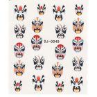 Vodolepka - masky, tváre