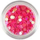 Ozdobné konfety - 3mm koralové šesťhrany