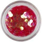 Svetločervený šesťhran - aquaelements