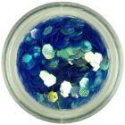 Modrý šesťhran - aquaelements