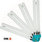 Náhradné žiarivky do UV lampy ELEGANT, 4ks