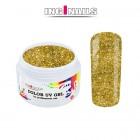 UV Gél, farebný - Gold Glitter 5g