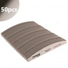 50ks - Pilník Profi Speedy Halfmoon zebra s čiernym stredom - 150/150