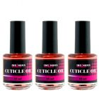 Cuticle Oil PEACH ORANGE 15ml - olej na nechtovú kožičku, 3ks