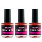 Cuticle Oil PEACH ORANGE 15ml - olej na nechtovú kožičku, 3ks