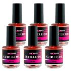 Olej na nechty, 6ks - Cuticle Oil PEACH ORANGE 15ml