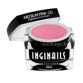 UV gél Medium Pink gel 40ml