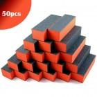 50ks - 3-stranný oranžovo-čierny blok 100/100