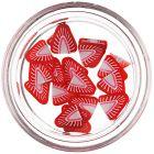 Fimo nechtové ozdoby - narezané jahody