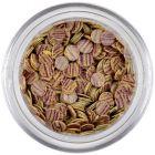 Flitre - béžové, fialové pásiky
