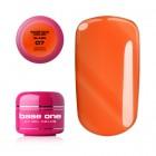 Gel Base One Color - Queen Orange 07, 5g