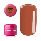 UV Gel na nechty Base One Color - Carmel Brown 63, 5g