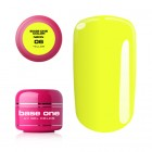 UV Gel na nechty Base One Neon - Yellow 06, 5g