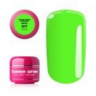 UV Gel na nechty Base One Neon - Green 07, 5g