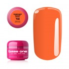 Gel Base One Neon - Medium Orange 10, 5g