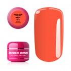 UV Gel na nechty Base One Neon - Dark Orange 11, 5g