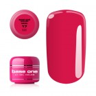 UV Gel na nechty Base One Neon - Ruby Pink 17, 5g