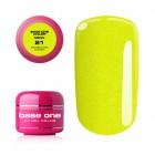UV Gel na nechty Base One Neon - Sparkling Lemon 21, 5g