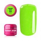 UV Gel na nechty Base One Neon - Fresh Green 23, 5g