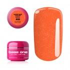 UV Gel na nechty Base One Neon - Burning Orange 26, 5g