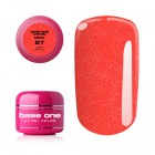 UV Gel na nechty Base One Neon - Sexy Coral 27, 5g