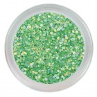 Fluorescenčný glitrový prášok - Neon Green