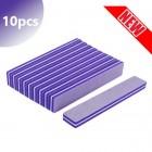 10ks - Penový pilník na nechty, fialový 100/150