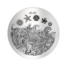Doštička na zdobenie nechtov - JQ-20