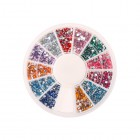 Ozdobné guľaté kamienky - rôzne farby