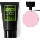 LED PASTE UV GEL PLATINUM - SOFT PINK, 30g