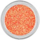 Glitrový ozdobný prášok – oranžový
