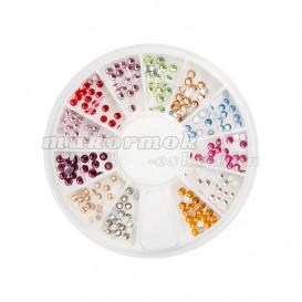 SWAROVSKI ozdobné kamienky na nechty – mix, 2mm