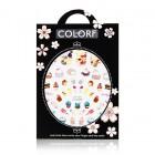 3D nálepky na nechty – candies – CA021