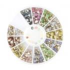 Nail art ozdoby – kamienky diamanty - mix
