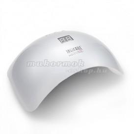 Kombinovaná Smart LED UV lampa na nechty, strieborná - 48W