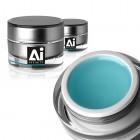 AFFINITY ICE nežĺtnúci UV stavebný gél na nechty - BLUE 15ml