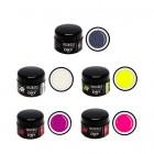 DRY farebné gély - 5ks sada - neon