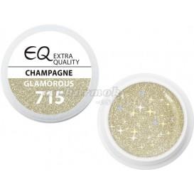 Extra Quality GLAMOURUS farebný UV gél - CHAMPAGNE 715, 5g