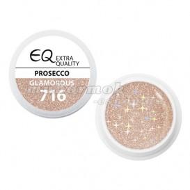 Extra Quality GLAMOURUS farebný UV gél - PROSECCO 716, 5g
