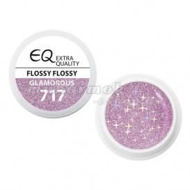 Extra Quality GLAMOURUS farebný UV gél - FLOSSY FLOSSY 717, 5g