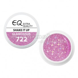 Extra Quality GLAMOURUS farebný UV gél - SHAKE IT UP 722, 5g