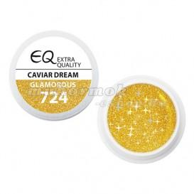 Extra Quality GLAMOURUS farebný UV gél - CAVIAR DREAM 724, 5g