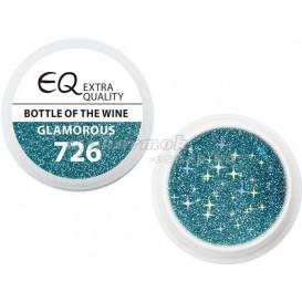 Extra Quality GLAMOURUS farebný UV gél - BOTTLE OF THE WINE 726, 5g