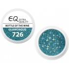 Extra Quality GLAMOURUS farebný UV gél - BOTTLE OF THE WINE 726, 5g