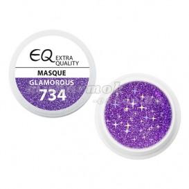 Extra Quality GLAMOURUS farebný UV gél - MASQUE 734, 5g