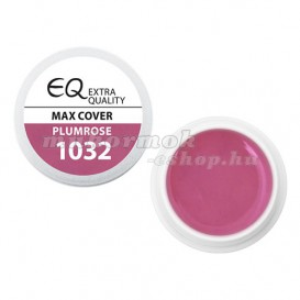 Extra Quality MAX COVER farebný UV gél - PLUMROSE 1032, 5g