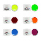 Neónové farebné gély - 6ks sada