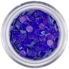 Flitre - modrofialové, fialové pásiky