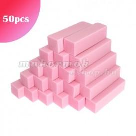 50ks - 4-stranný blok, biely - 80/80