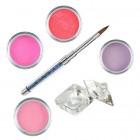 Sada Pink- sada farebných akrylových práškov